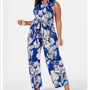 Floral/Printed Jumpsuit